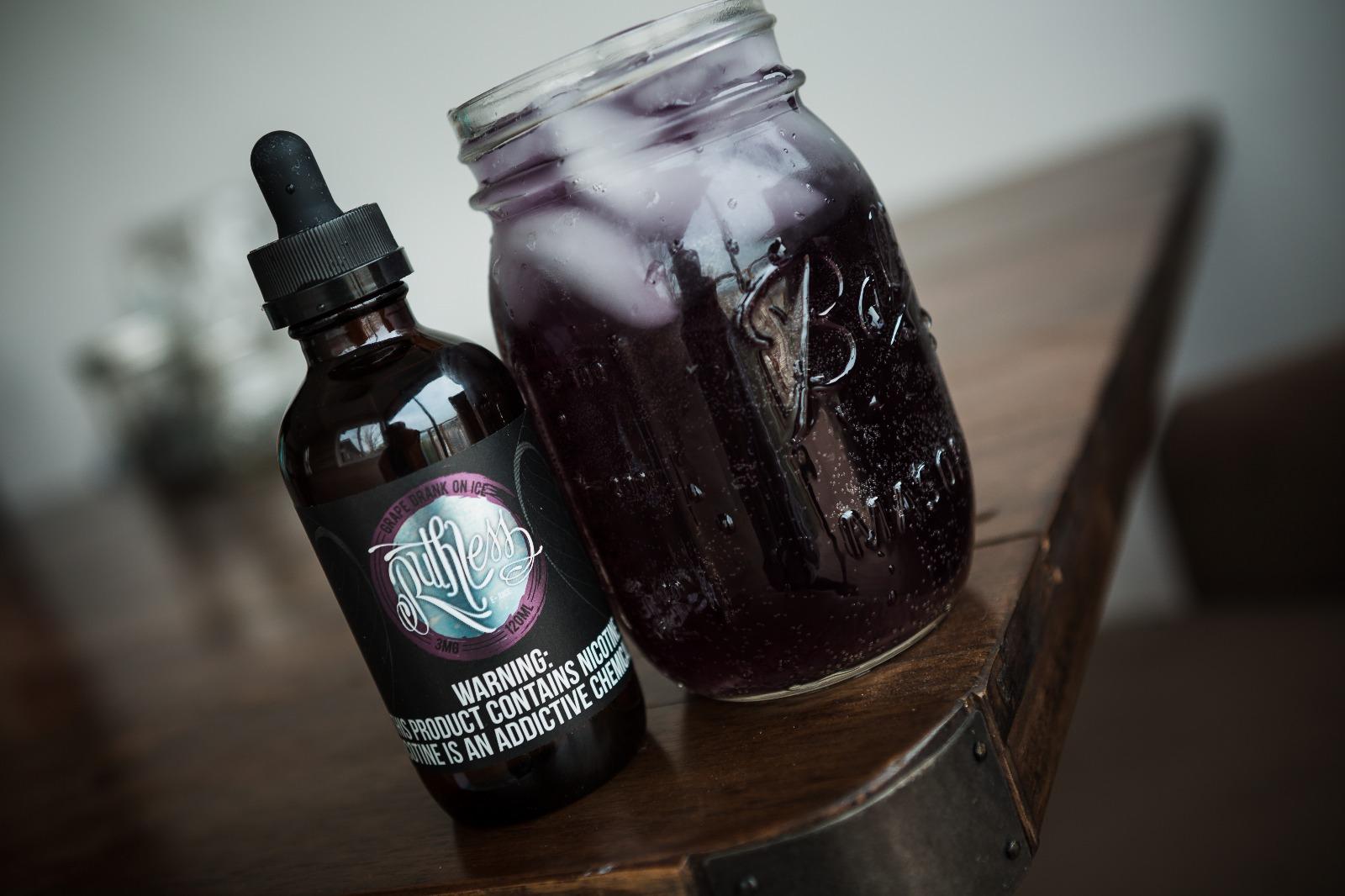 Grape Drank on Ice E-juice - Ruthless Vapor E-Liquids